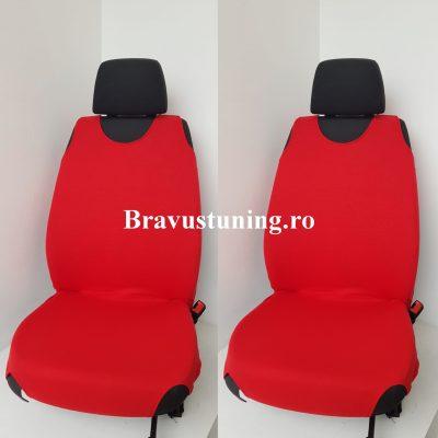 Huse scaun auto tip Maieu Rosu