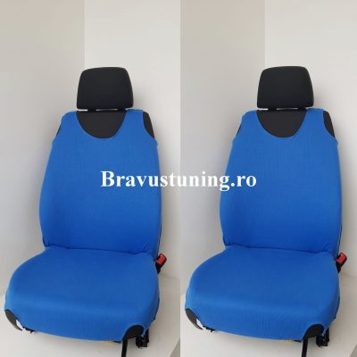 Huse scaun auto tip Maieu Albastru