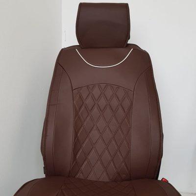 Huse scaun auto 2 piese PIELE ECOLOGICA