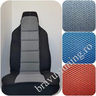 Huse scaun auto spatar GRI deschis