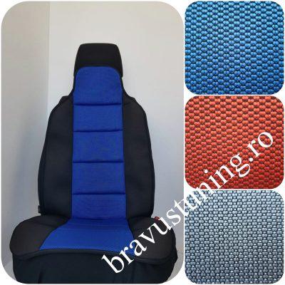 Huse scaun auto tip spatar ALBASTRU
