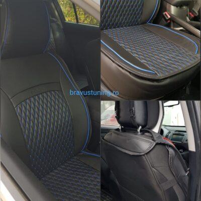 Huse scaun auto Piele Ecologica Nevada A2