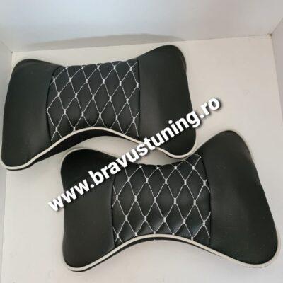Set perne tetiera Ecologica negru+alb